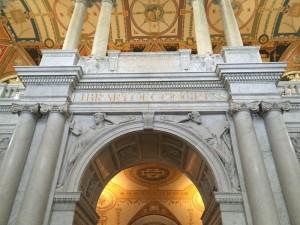 Pintu masuk Perpustakaan Kongres
